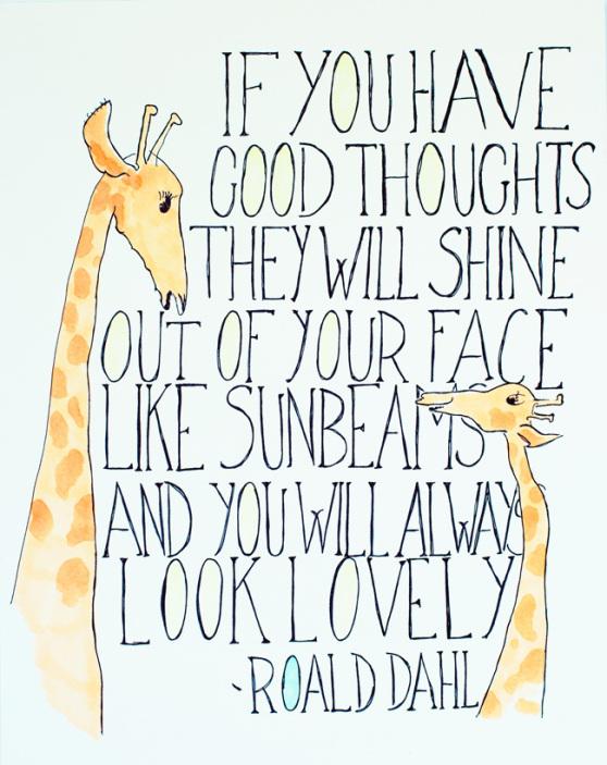 Why Roald Dahl Understood True Beauty – Uplift My Mind